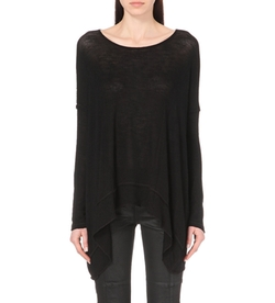 Free People - Boat-Neck Knitted Jumper