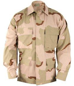 USA Military Surplus - BDU Desert Camouflage Shirt- Coat