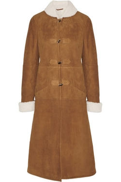 Vanessa Seward  - Abaca Shearling Coat