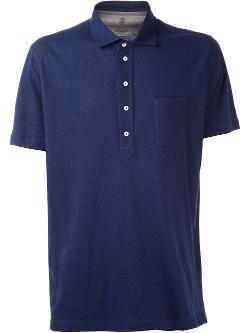 Brunello Cucinelli  - Jersey Polo Shirt