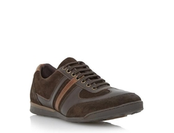 Dune Mens - Mixed Material Sneakers