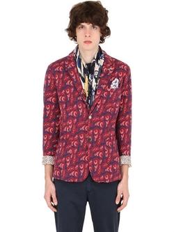 Bob   - Paisley Cotton Jacquard Blazer