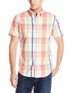 Nautica  - Short-Sleeve Plaid Shirt