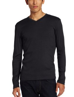 Calvin Klein - Long Sleeve N-Neck Rib Tee