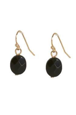 Frances - Facet Stone Drop Earring