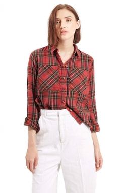 Topshop  - Tartan Plaid Shirt