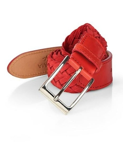 Isaia - Braided Suede Belt