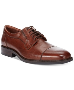 Johnston & Murphy - Tillman Waterproof Cap-Toe Oxford Shoes