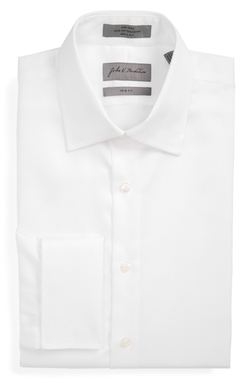 John W. Nordstrom - French Cuff Textured Dress Shirt