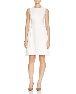 Lafayette 148 New York - Dorian Side Pleat Dress