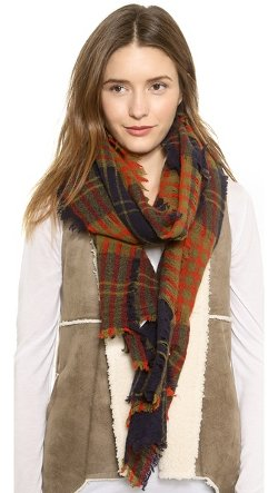 Madewell  - Puzzle Plaid Scarf