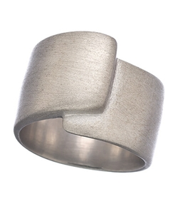 B/C Designs  - Sterling Silver Piega Ring