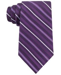 Michael Michael Kors  - Pin & Rib Stripe Tie