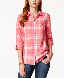 Tommy Hilfiger Plaid Shirt - Plaid Shirt