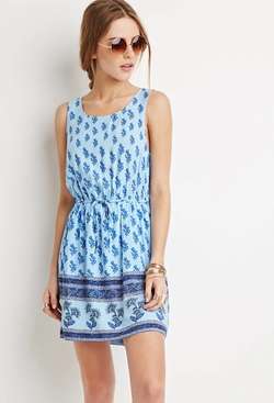 Forever 21 - Crisscross-Back Floral Dress