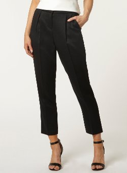 Dorothy Perkins - High Waisted Pique Peg Trousers