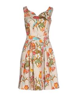Blumarine - Floral Short Dress