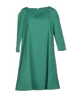 Gianluca Capannolo  - 3/4 Length Sleeves Short Dress