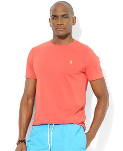Polo Ralph Lauren  - Custom-Fit Cotton Jersey Crew-Neck T-Shirt