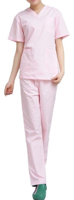 XinAndy - Medical Uniform Scrub Set Top and Pants