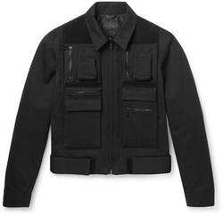 Calvin Klein Collection  - Lanesboro Velcro-Panelled Cotton-Twill Jacket