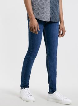 Topman - Mid Bright Stretch Skinny Jeans