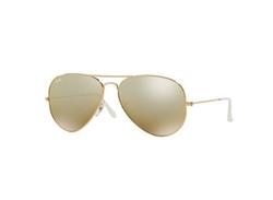 Ray-Ban - Mirrored Flash Aviator Sunglasses