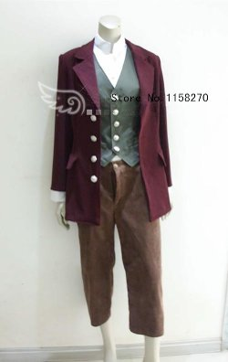 Chemistry Cosplay - The Hobbit Bilbo Baggins Cosplay Costume