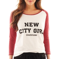 MNG By Mango - City Girl Screen Tee Shirt