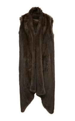Helen Yarmak - Knitted Barguzine Sable Vest