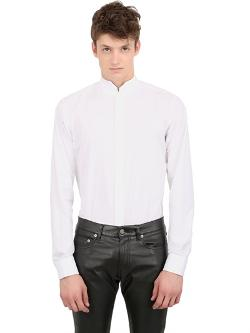 Saint Laurent  - Cotton Poplin Tuxedo Shirt