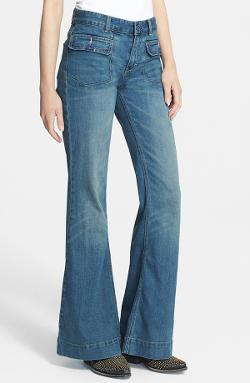 Free People  - High Rise Flared Jeans