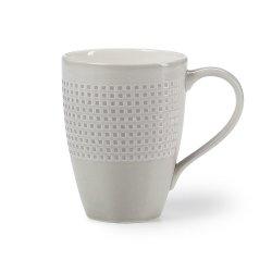 Mikasa - Crisscross Grey Mug