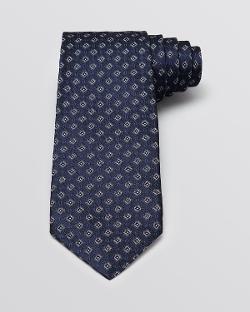 John Varvatos - Diamond Medallion Classic Tie