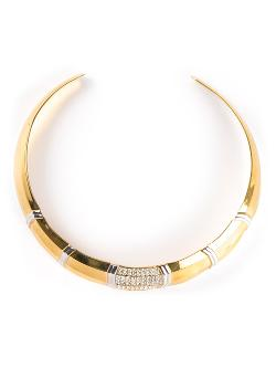 LANVIN VINTAGE  - choker necklace