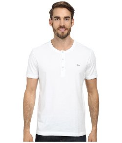 Lacoste - Vintage Wash Henley T-Shirt