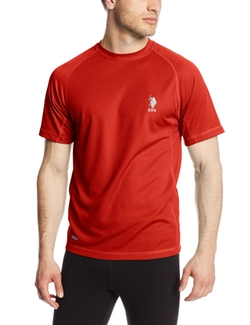 U.S. Polo Assn. - Raglan Cage Mesh Performance Shirt