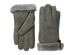 UGG -  Leather Trim Tenney Gloves