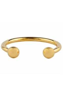 Camille K - Signature Perle Cuff Gold