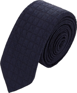 Barneys New York - Check Neck Tie