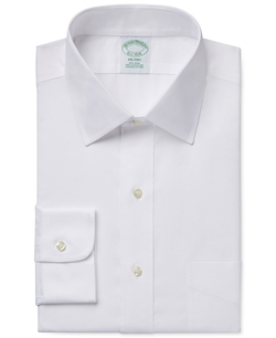 Brooks Brothers - Pinpoint Solid Dress Shirt
