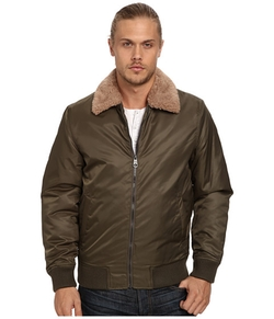 Buffalo David Bitton - Polyester Bomber With Knit Cuff & Waist Jacket