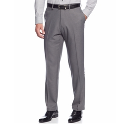 Kenneth Cole Reaction - Gabardine Solid Dress Pants