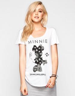 Neff  - Disney Collection Minnie Bandana Womens Tee