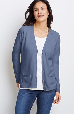 J.Jill - Easy V-Neck Cardigan