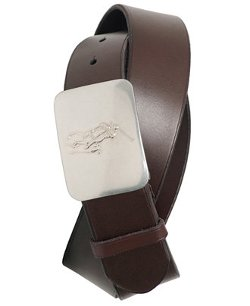 Polo Ralph Lauren Accessories - Pony Plaque Leather Belt