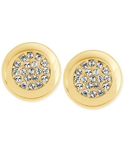 Swarovski  - Crystal Pavé Stud Earrings
