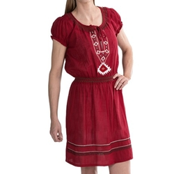 Scully  - Embroidered Tunic Dress