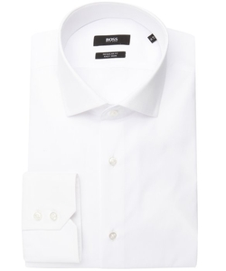 Hugo Boss - Gordon Spread Collar Button Front Dress Shirt