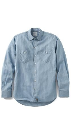 Billy Reid  - Dothan Camp Shirt